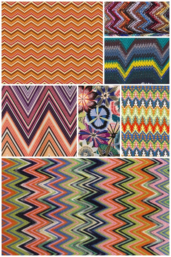 smilingischic, collage zigzag missoni, vintage missoni,
