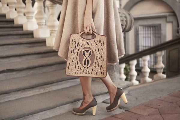 Smilingischic, fashion blog, Sandra Bacci, Style Lab, Contamination #2,  Ethical Style, Fashion in Pfanner, Animanili, mantella Mantella double-face, eco-lapin color panna, palazzo pfanner, Lucca, eventi,