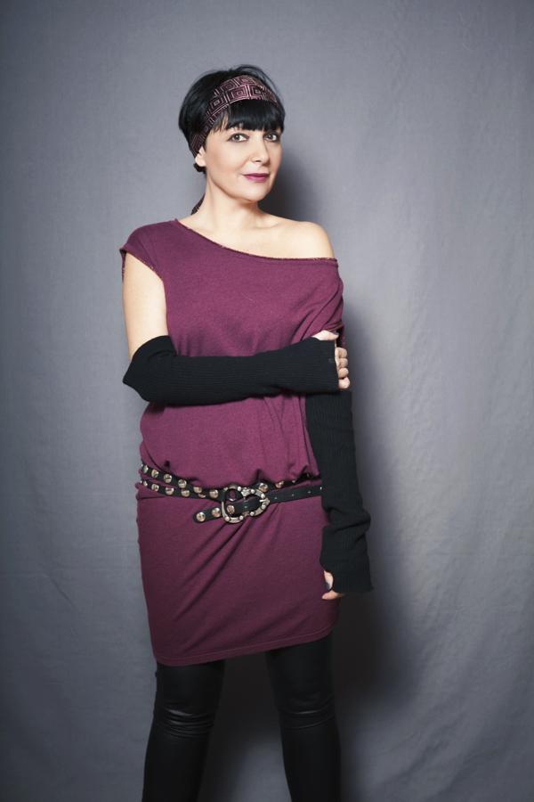 Smilingischic, fashion blog, Sandra Bacci, two is better than one, rock or chic?, miawish maglieria, abito bordeaux, Smilingischic_Mia_Wish-doppio