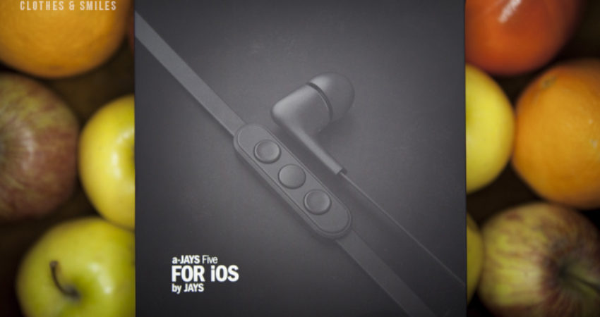 Earphones JAYS: The color is in the music!
