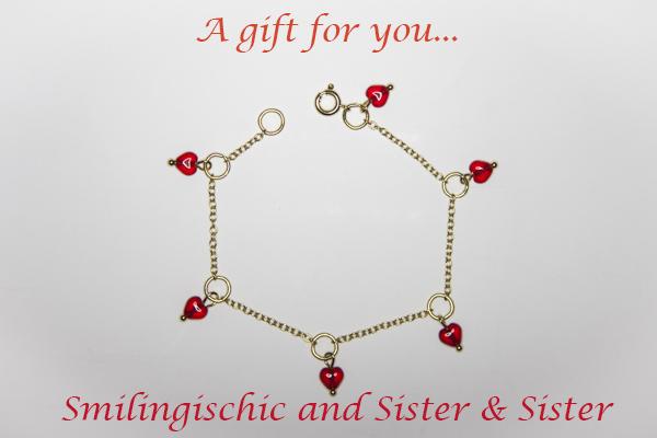 Smilingischic, fashion blog, contest , bracciale sister & sister