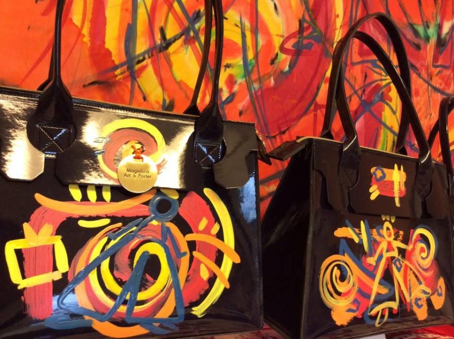 Smilingischic, fashion blog, More art in your life, GAMeC CentroArteModerna,creazioni di Art-Design, artista e stilista, Marina Pizzato , MAGNIFICA ART à PORTER