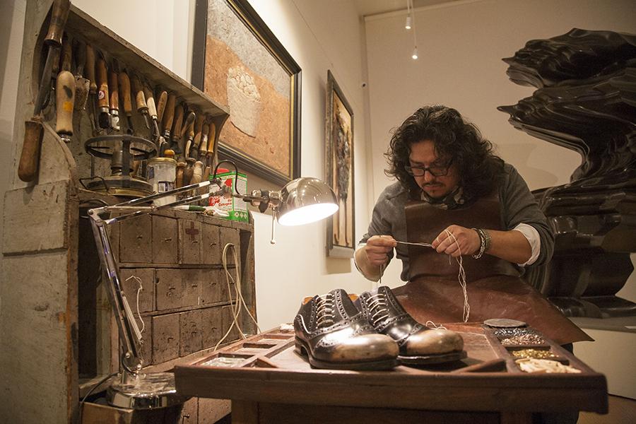 Smilingischic, fashion blog, Il Cuoio della Toscana, Luca Argentero, IMG_2397