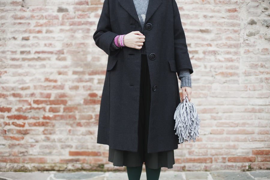 Smilingischic, fashion blog, Sandra Bacci, Whatever, gray , love, outfit, dettagli