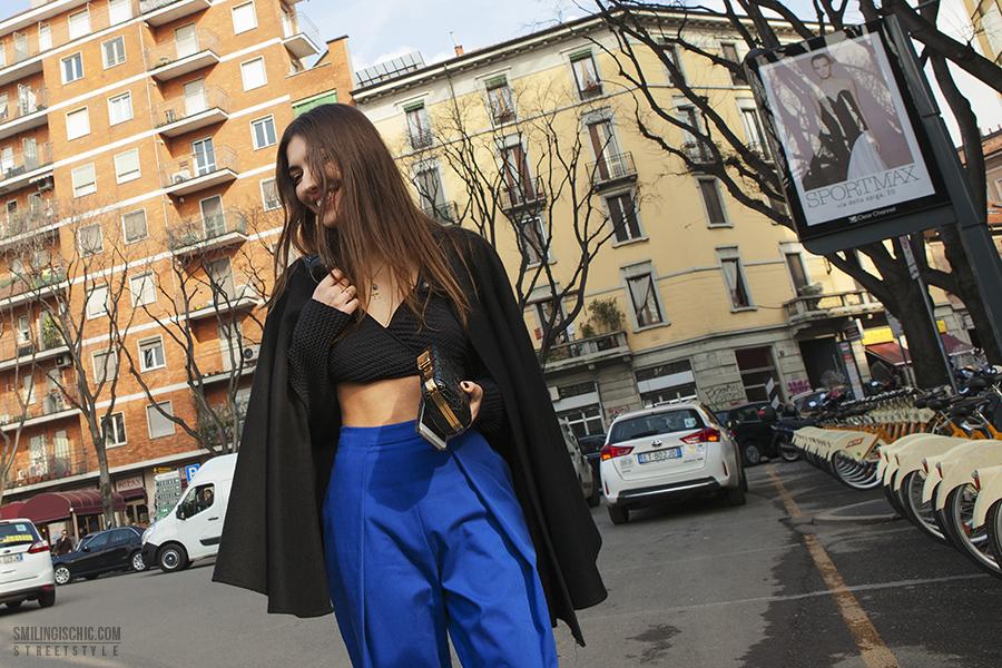 Smilingischic | Streetstyle | MFW | Via Bergognone