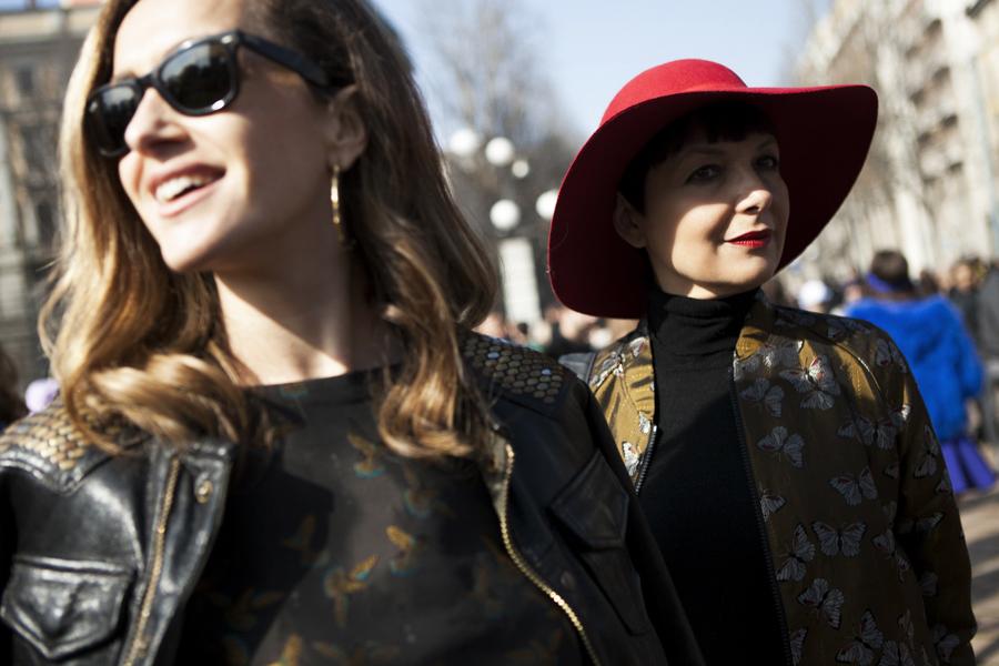 Smilingischic, fashion blog, Giuliette Brown, dettaglio cappello donna, Giulia Bruni