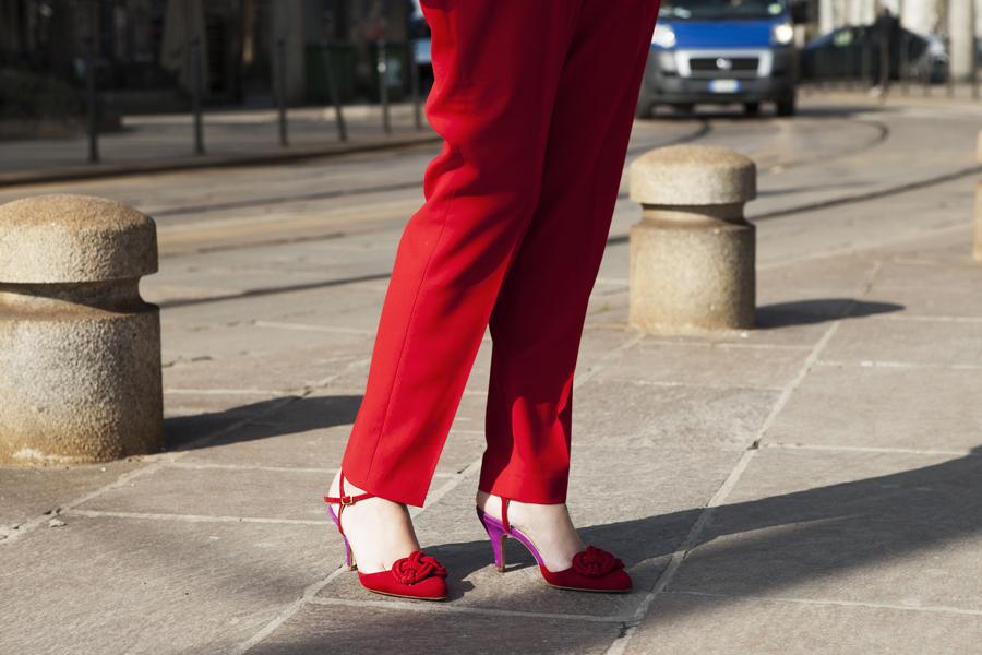 Smilingischic, fashion blog, dettaglio scarpa retrò, Nora scarpe di Lusso, scarpa bicolore,