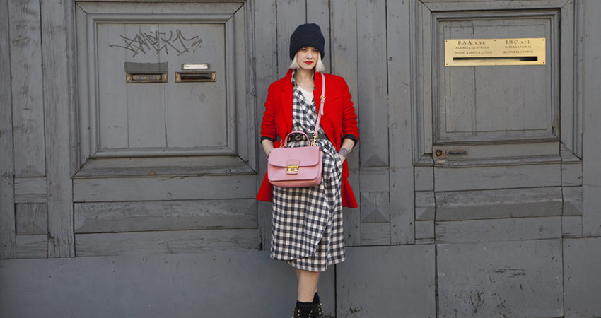 Checkered Dress | Milano