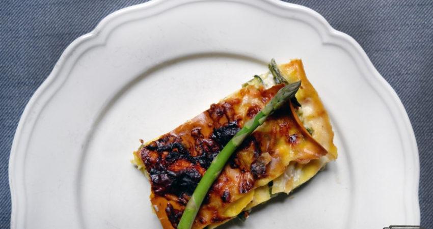 Smiling in the kitchen| LASAGNE VERDI ASPARAGI E ZUCCHINE … se il tuo forno funziona!