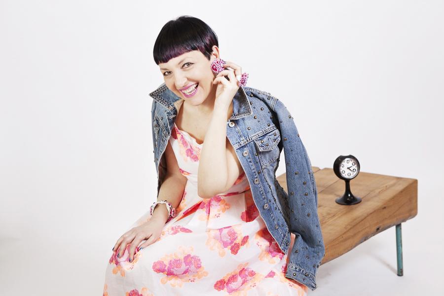 Smilingischic | Sandra Bacci -1002, Bijoux sodini, nuova collezione, pink, Stile anni '50