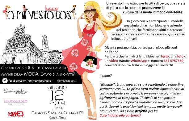 Smilingischic, fashion blog, Io mi vesto così Lucca, Fashion Event , Lucca,