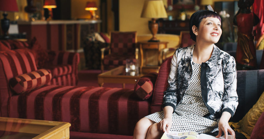 Retrò style at Hotel Adua & Regina di Saba