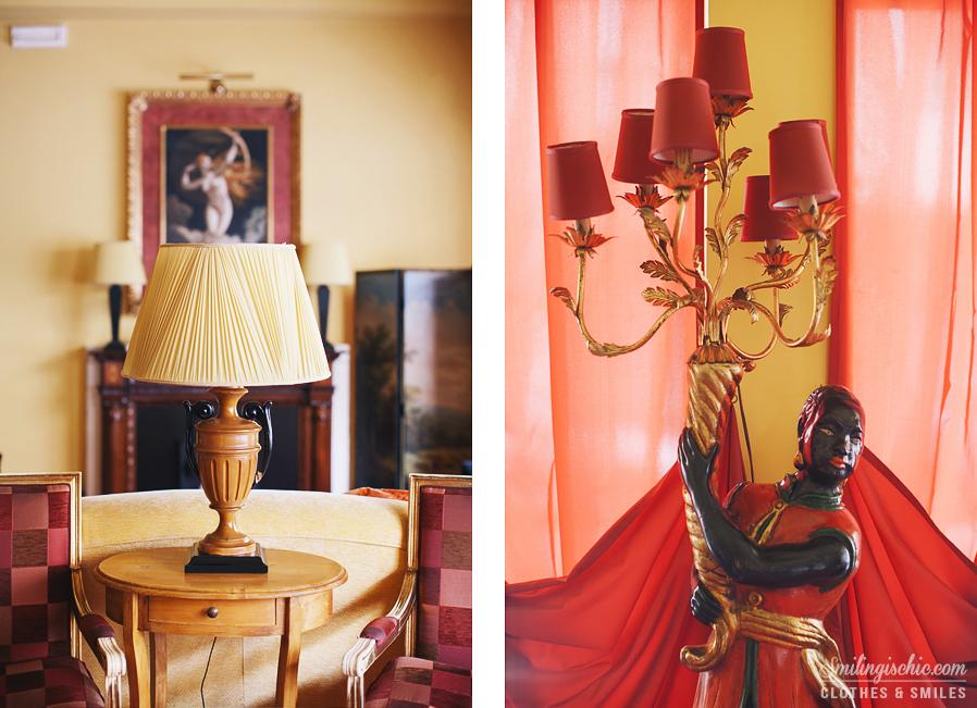 Smilingischic | Hotel Adua-1009, dettagli hall, barooco