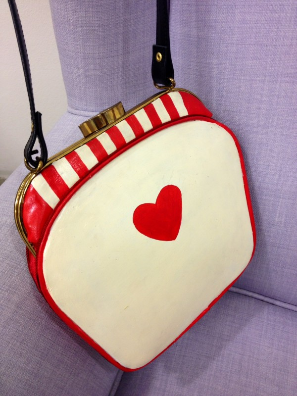 Smilingischic, fashion blog, Marina Santaniello, borse, made in Italy, red, heart