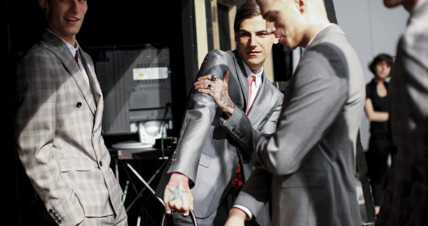 John Richmond | Backstage | S/S 2015 Men's Collection