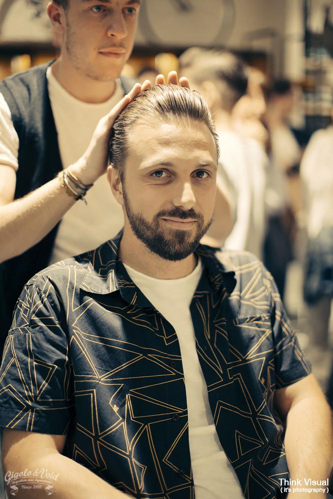 Smilingischic, Shilling in the city, barbiere old school Lucca, Giorgio Leone