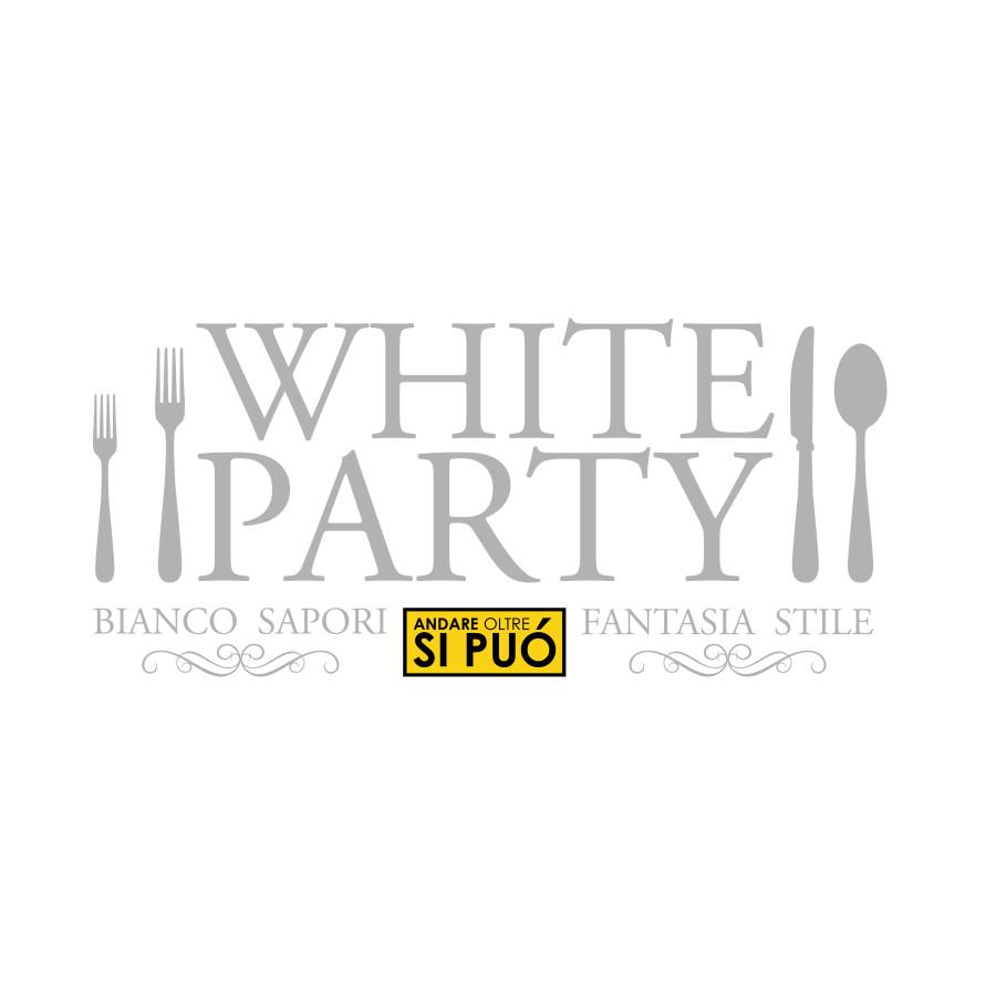 White Party. logo, Lucca, Andare Oltre si può