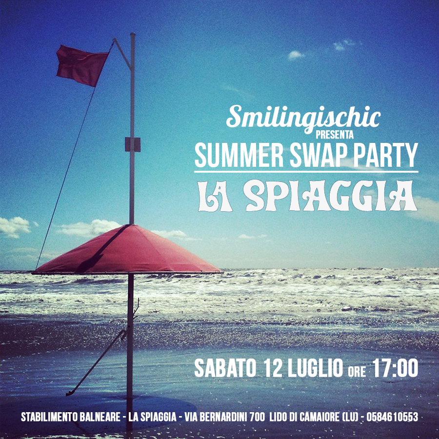 Swap Party di Sandra Bacci, Smilingischic, fashion blog, stabilimento balneare La spiaggia