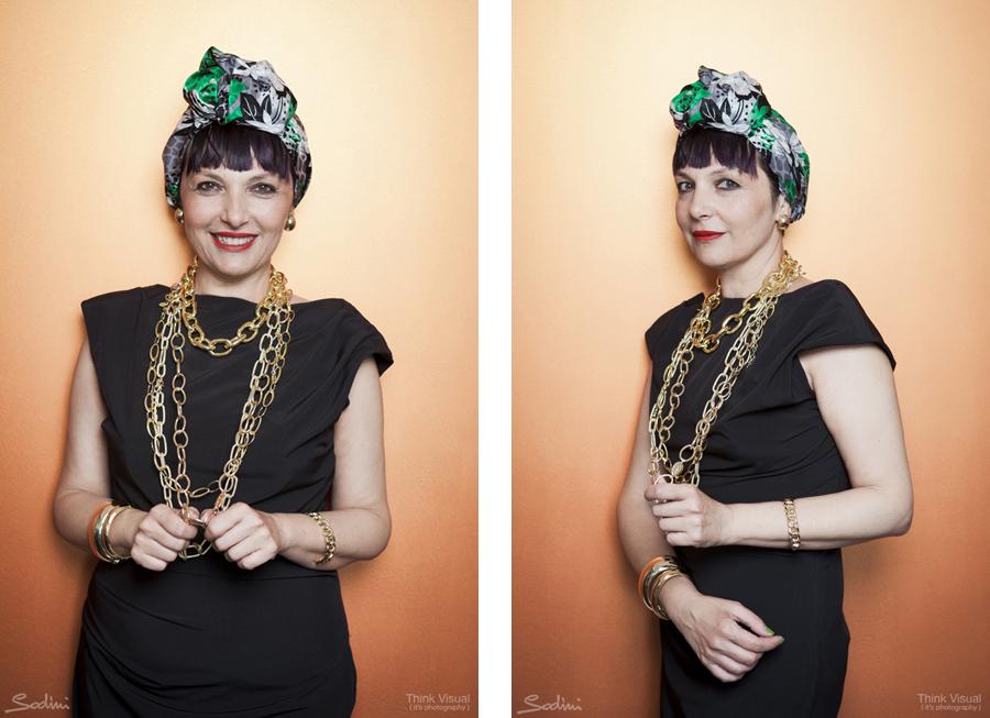 Smilingischic, shooting per Sodini, Blogger Day, Nuova collezione Autunno Inverno 2015, Turbante, Sine Modus