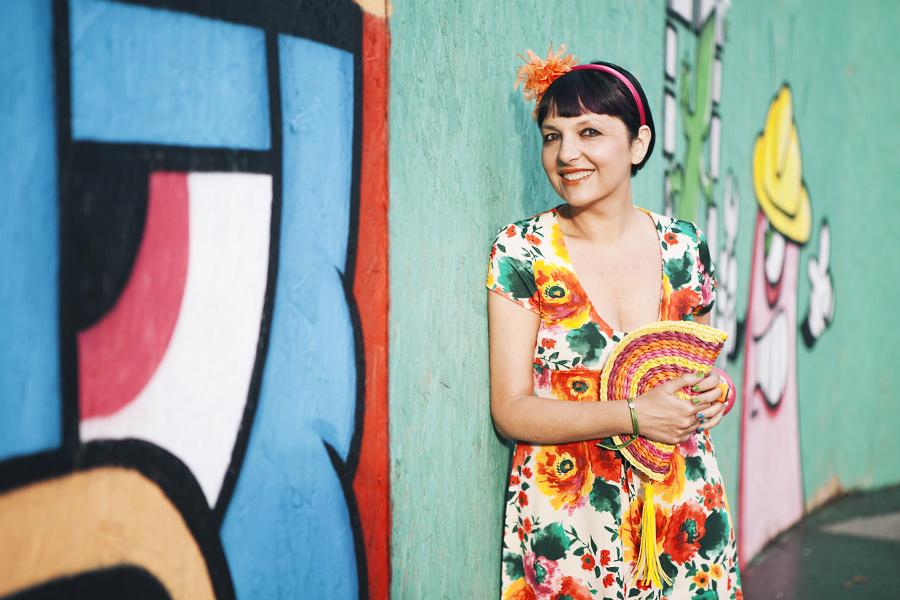 My Bonbons Flower Power Edition, outfit, graffiti, semplicità, Sandra Bacci