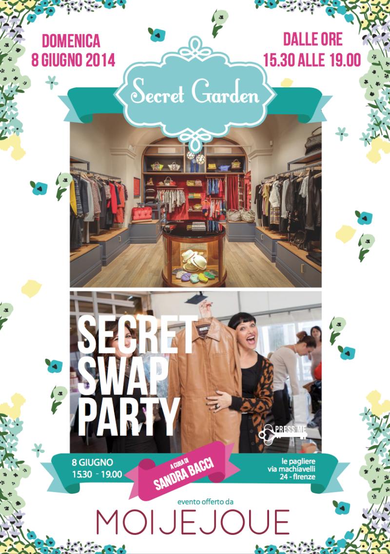 Smilingischic, fashion blog, Swap Party con Sandra Bacci., Secret Garden a Firenze