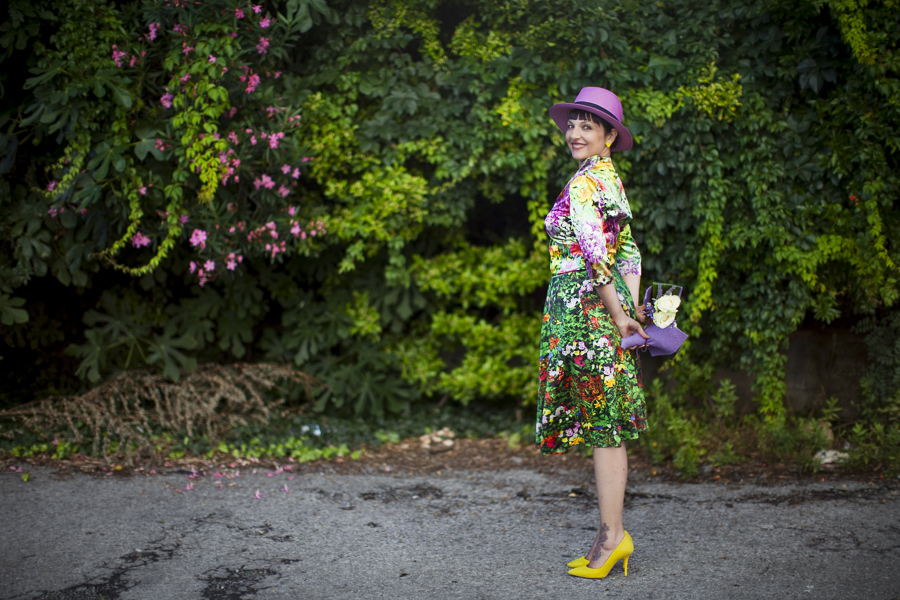 Smilingischic | Nara Camice-1004, stile floreale, Sandra Bacci, Cover me in flowers