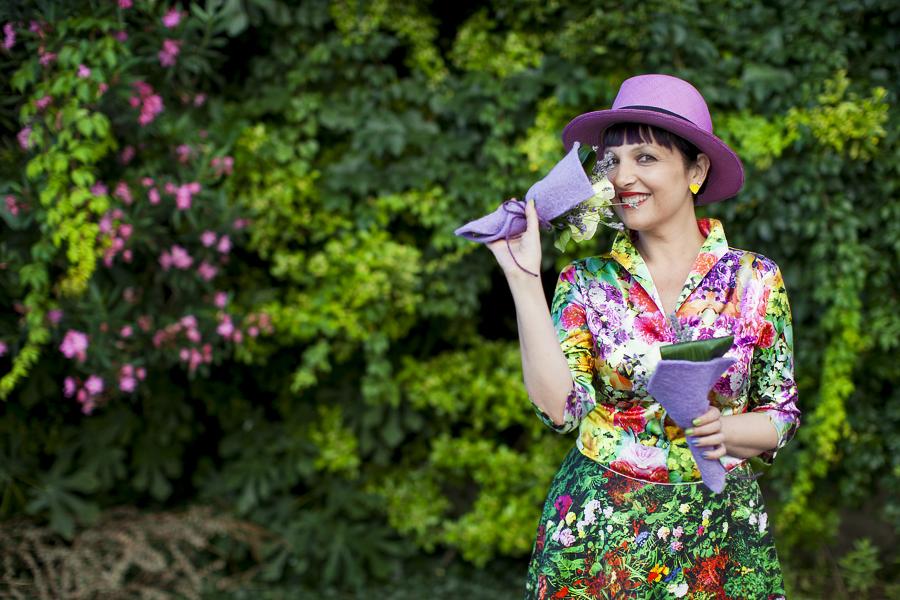 Smilingischic | Nara Camice-1005, stile floreale, Sandra Bacci, Cover me in flowers