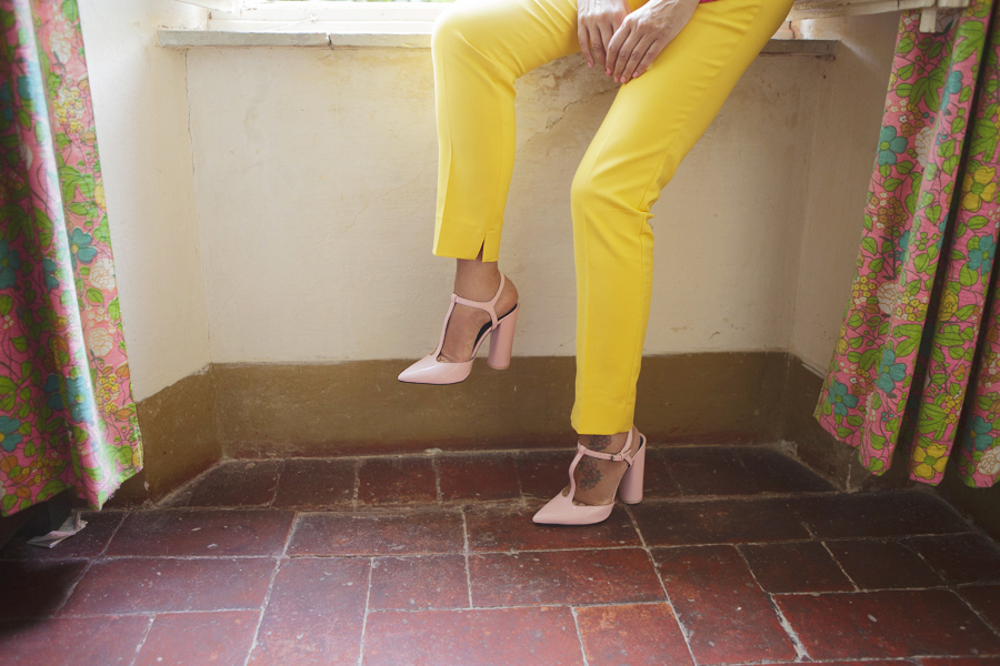 Smilingischic | Nara Camicie | Venetus -1003, scaroe rosa con tacco largo Zara,