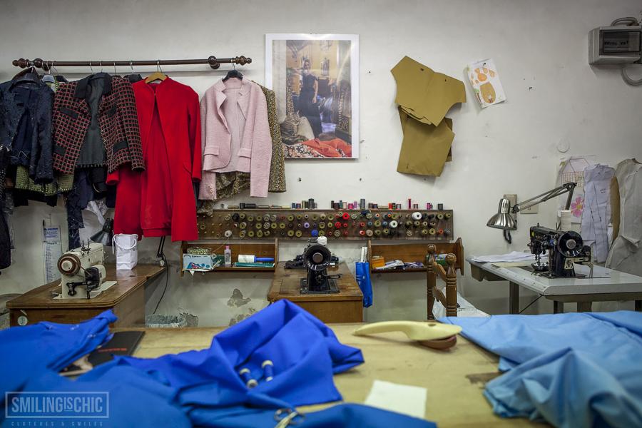 Smilingischic, chatting with, Atelier Piero Ricci, Piero Ricci, Lucca, sartoria