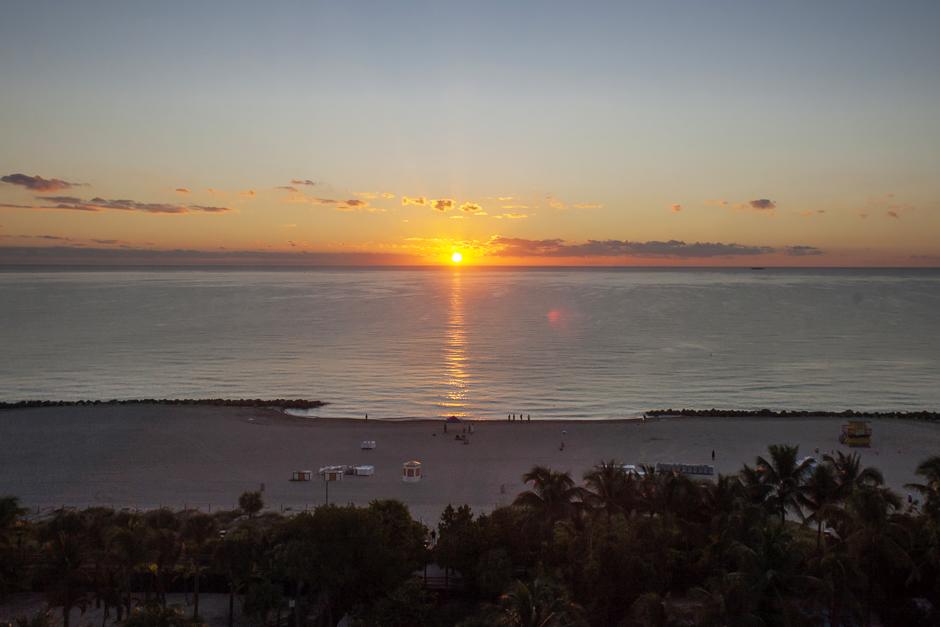 Giuliette Brown - Miami -1001, alba sulla spiaggia