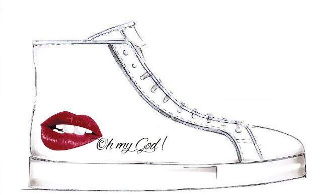 Smilingischic, Sandra Bacci, Contest Cartina, Sneaker personalizzata, Oh my God
