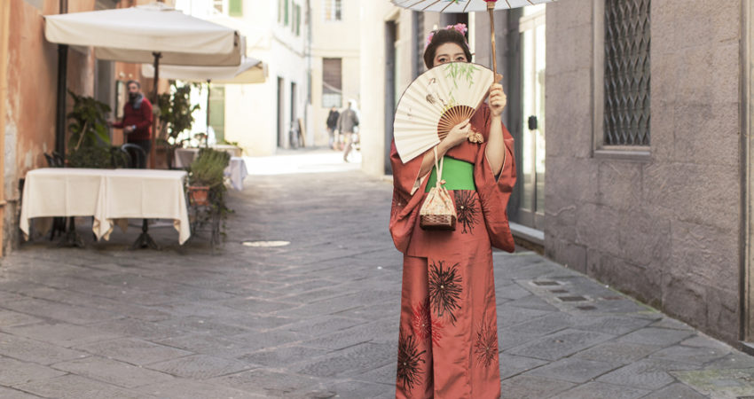 Lucca Comics and Games | Geisha … on the Street