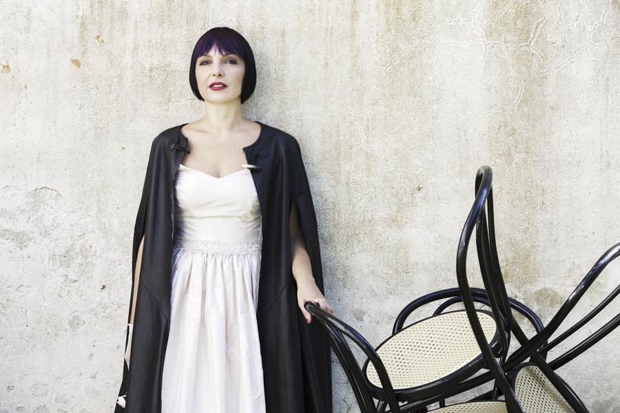 Sandra Bacci, Smilingischic -1001, Fashion in Flair, editoriale Chanel N5 look, Silvia Soldani Stylist