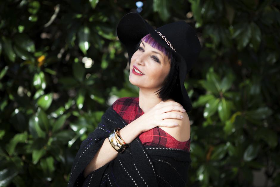 Scegliere l'Happy Life , Sandra Bacci sorridente , cappello a falda larga