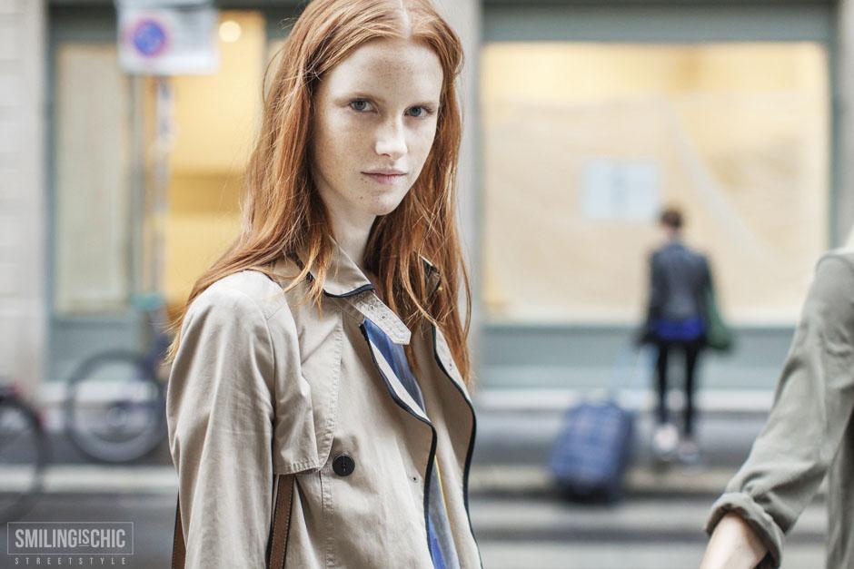 Streetstyle - Model - Milano