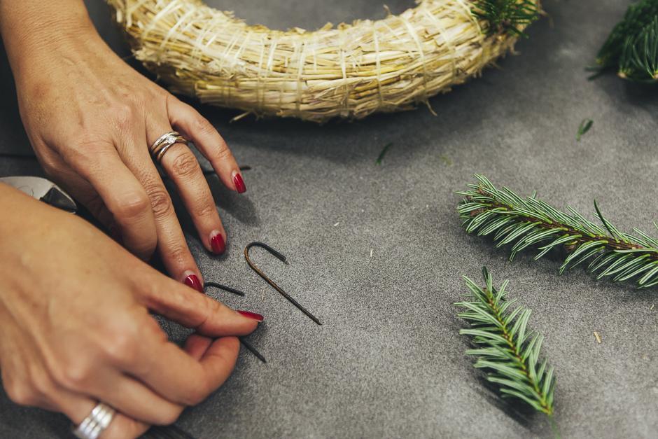Ghirlanda-Natale-1008,  Smilingischic, addobbi natalizi, tutorial per ghirlanda