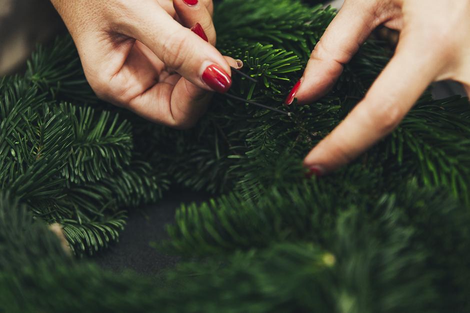 Ghirlanda-Natale-1009,  Smilingischic, addobbi natalizi, tutorial per ghirlanda