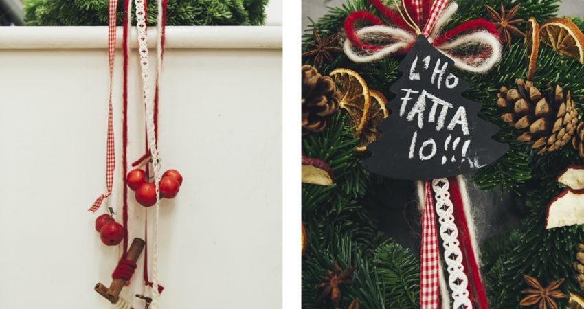 Come fare ad avere la più bella ghirlanda di Natale?