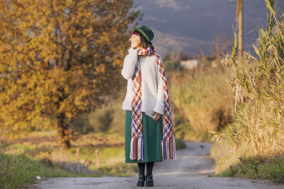 Smilingischic-luceombra-1001, outfit colorato, colori autunnali