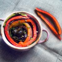 Coccottine con peperoni e alici, Smiling in the Kitchen, Silvia Dall'Aglio