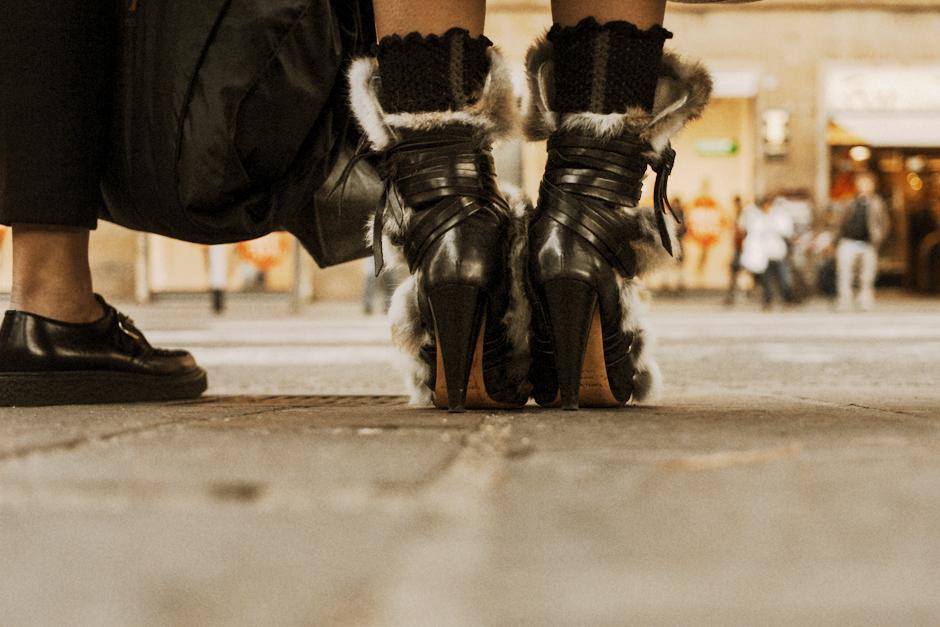 Un altro Pitti. L'Altro Pitti, Smilingischic, Think Visual , scarpe a Pitti