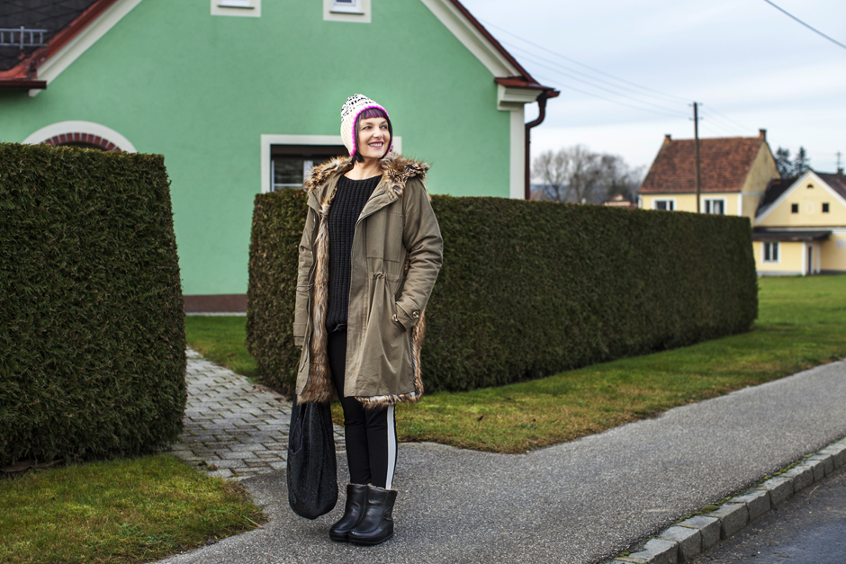 Sandra Bacci-Smilingischic-1001, Smilingischic, streetstyle, Parka Essentiel, Stegersbach