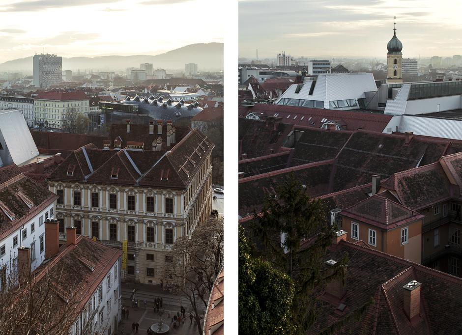 Sandra Bacci-Smilingischic-1010, Graz, veduta dei tetti