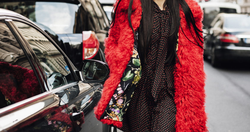 Gilda Ambrosio | Red Shearling