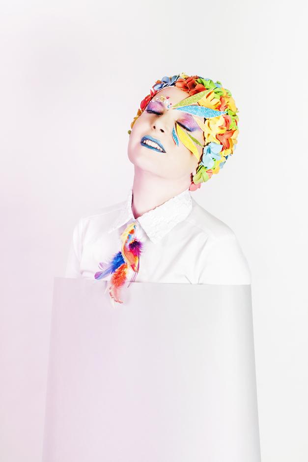 make up colorato, make up per draw queen, tommaso paolicchi