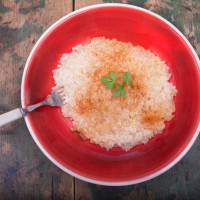 Risotto alla crema di Parmigiano e Paprika