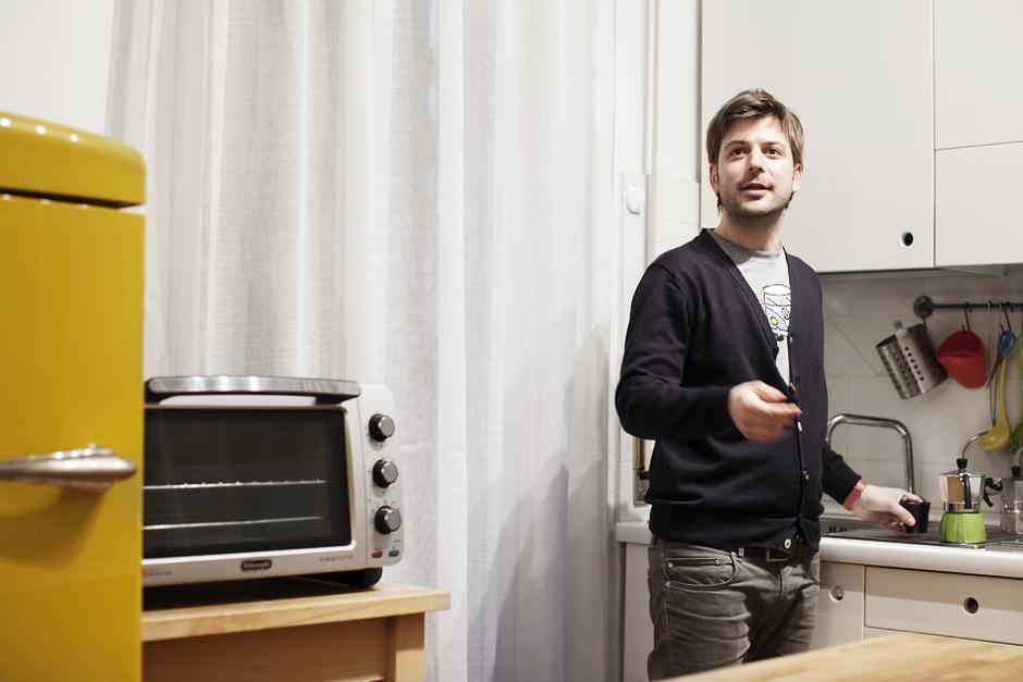 Marco Vincendi, designer e co fondatore di Studiòvo, Lucca