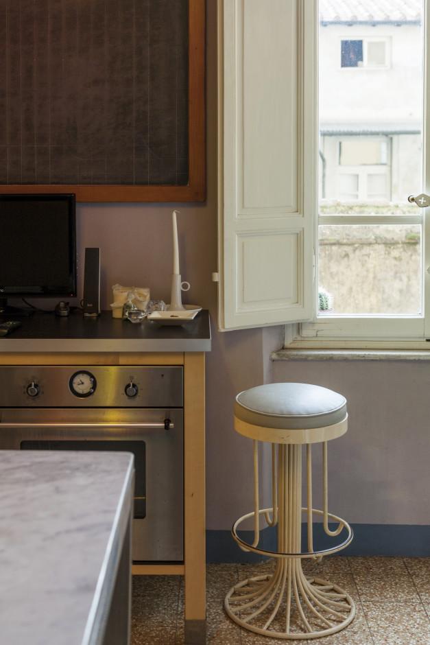 abitazione di un architetto, cucina