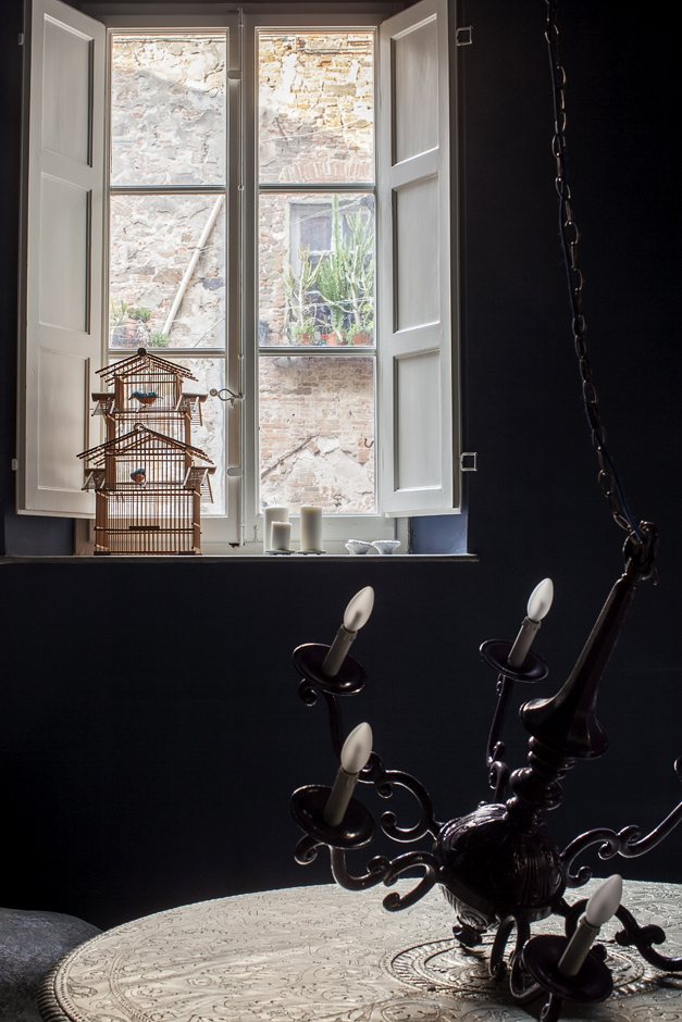 abitazione di un architetto, Paolo Bertoncini Sabatini, finestra sul cortile
