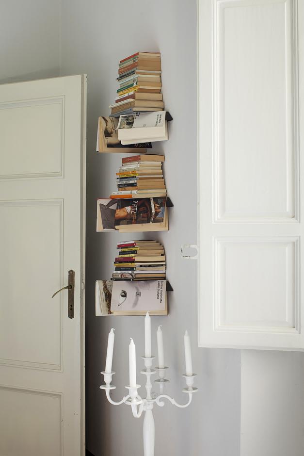 abitazione di un architetto, libreria insolita